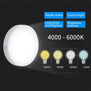 Rechargeable Cordless PIR Motion Sensor 6LED Night Light Lamp Wardrobe Bedside