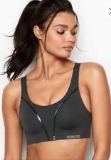 Victoria'S Secret Victoria Sport Bra Size: 36C New Ship Free Max Support Gray