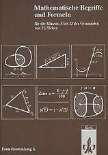 Mathematische Formelsammlung: Mathematische Formeln und ... | Buch | Zustand gut