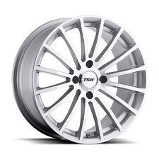 19 inch 19x9.5 TSW MALLORY Silver wheel rim 5x112 +53