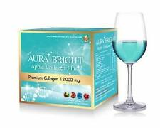 Aura Bright Apple Collagen Plus Premium Collagen 12,000mg.10 Sachets + Tracking