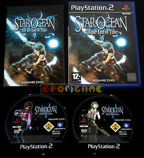 STAR OCEAN TILL THE END OF TIME Ps2 Versione Italiana 1ª Edizione ••••• COMPLETO