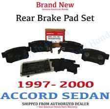 2008-2009 Honda ACCORD 4DR SEDAN// 2DR COUPE Genuine Factory OEM Rear Brake Pads