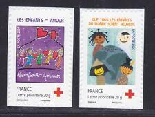 FRANCE AUTOADHESIF N°  145 & 146 ( 4125 & 4126 ) ** MNH, TB