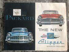 1956 Packard Clipper Sales Brochure Original