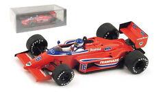 Spark S1789 Haas-Lola THL2 #16 'Beatrice' Belgium GP 1986 Patrick Tambay - 1/43