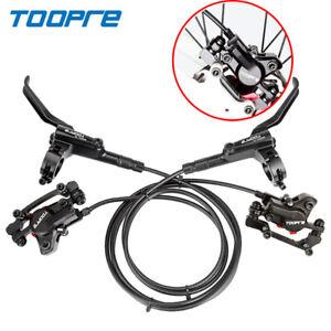 TOOPRE MTB Bike Hydraulic Disc Brake Calipers Front Rear Clamp Set Fit SHIMANO