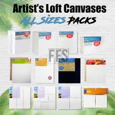 Artists Loft Stretched Canvas Set Art Oil Acrylic Painting All Packs / Sizes lot