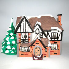 Vintage Dept 56 Original Snowhouse Building Highland With Cord 1987