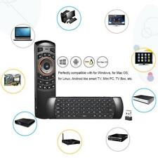 Fly Air Mouse Wireless Qwerty Keyboard Remote Control Black For Android TV Box