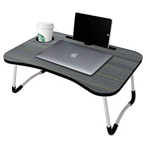 GROSSē Laptop Bed Table Lap Standing Desk for Bed and Sofa Breakfast Bed Tray x
