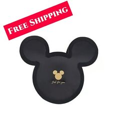 Luxury Mickey Mouse shaped flower gift packaging box with lid . (Black )