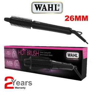 Wahl ZX927 Ceramic Coated Hot Brush 26mm 200º Hair Curling Tong Tight Curls, NEW