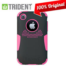 Trident Aegis Pink Case Hybrid Hard Cover Pink/Black for iPhone 3GS 3G