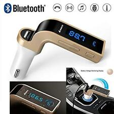 Carg7 Car MP3 Player Car Bluetooth Hands-Free Call Insert USB Chargers Memory