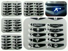 5 X PEGATINAS VINILO MANDO LED SONY FUNDA  PS4 LED STICKER DUAL SHOCK+FUNDAS