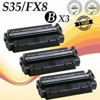 3PK S35 Toner Cartridge for Canon FX-8 Image Class D320 D340 Faxphone-L170 L400