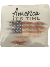 AMERICA IT'S TIME USA 🇺🇸 XL Tee Shirt New In Package