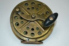 VINTAGE BRASS SEAFISHING REEL REPEARE OR SPARE PARTS