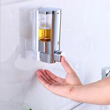 Wandmontage Seifenspender Flüssigseifenspender Shampoo Spender ABS Einhändig PAL
