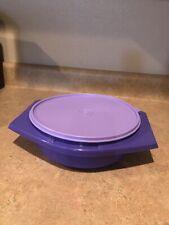 Tupperware Tortilla Keeper Purple Large Tortilla Keeper New