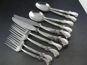 Sterling WALLACE 5pc Place Setting WALTZ OF SPRING ~no mono ~$195 each