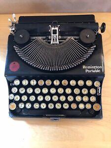 Rare Vintage Antique Remington Portable Typewriter With Case 1922