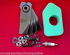 "Masport 19"" Mower Service Kit, Blades 783310, Filter 698369, Spark Plug"