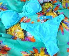 Sale Ladies M&S  14  Bikini With Sunflower Sarong