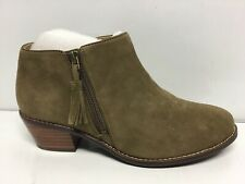 Vionic Womens Joy Serena Olive Ankle Boots Size 6.5
