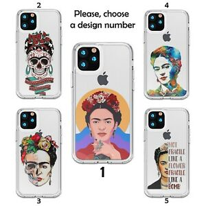 Frida Kahlo Case Galaxy s20 s10 S9 + Note 20 10 Ultra Silicone clear SN