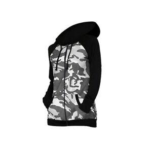 Girls Boys Zip Up Fleece Camo Hoodie Long Sleeves Sweatshirt Jackets 3-16 Years