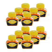 Thornton's Luxury Goods Fountain Pen Ink Bottle, 30ml, Pack of 12 - Yellow