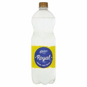Carters Royal Indian Tonic Water 1 Litre x 12 Mixer Cafe Restaurant Bar Cocktail