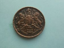 India, East Indies Co. 1/12th Anna 1835, Great Condition.