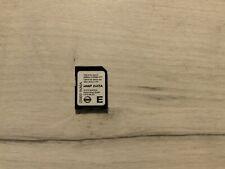 Nissan Connect 2 sat nav sd card 2012 25920 1KA0A