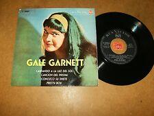 GALE GARNETT  - EP SPAIN RCA 20842 / LISTEN - GIRL POPCORN