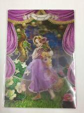 DISNEY Rapunzel 3D Lenticular  Postcard DAIGO for Greeting from Japan