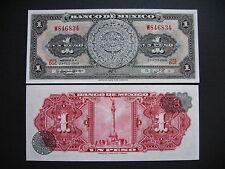 MEXICO  1 Peso 27.8.1969 Serie BGE  (P59k)  UNC