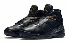 Brand New Mens Air Jordan 8 Retro C&C 832821-004 Black/Metallic Gold Size 10