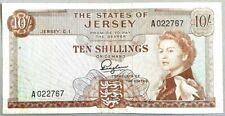 Jersey 10 SHILLINGS (1963) P-7 diffusé
