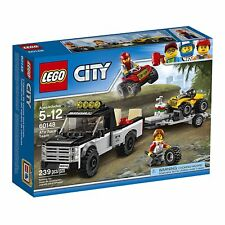 LEGO City ATV Race Team Vehicles Building Toy Playset Trailer Car Kids Gift Kit