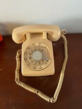 Vintage Rotary Dial Desk Phone - Bell System Made by Western Electric 500 6-67