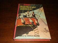 Tom Sawyer Abroad By Samuel Clemens Mark Twain 1965 Companion Library HB Book VG