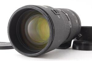 """"""" Almost Mint """" Nikon ED AF Nikkor 80-200mm f/2.8 D New Lens w/ Hood Japan #762"""