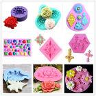 Silicone Fondant Gum Paste Mold DIY Cake Decorating Tools Resin Jewelry Crafts