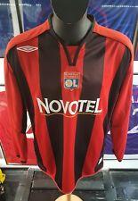 maillot jersey camiseta trikot maglia shirt om psg ol lyon 2006 2007 coupet XL