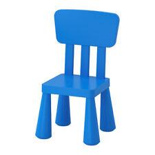 NEW IKEA MAMMUT CHILDREN'S CHAIR Toddlers Furniture Indoor / Outdoor BLUE