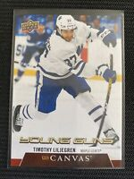 TIMOTHY LILJEGREN RC 20-21 UPPER DECK YOUNG GUNS CANVAS ROOKIE # C104 UD 2020-21