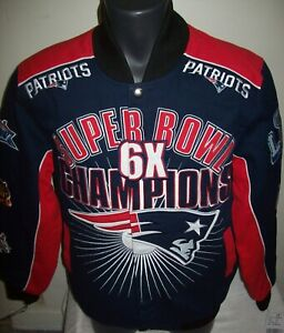 NEW ENGLAND PATRIOTS Ultimate 6 Time SUPERBOWL CHAMPIONSHIP Cotton Jacket 2020